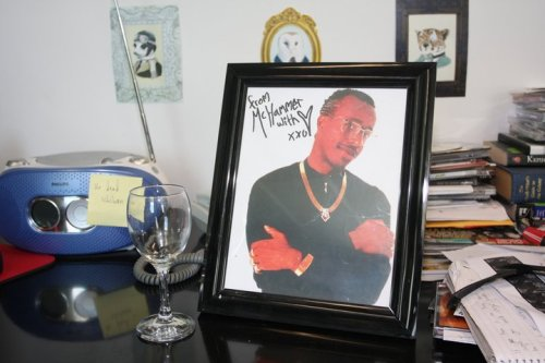 MC Hammer Signed Photo