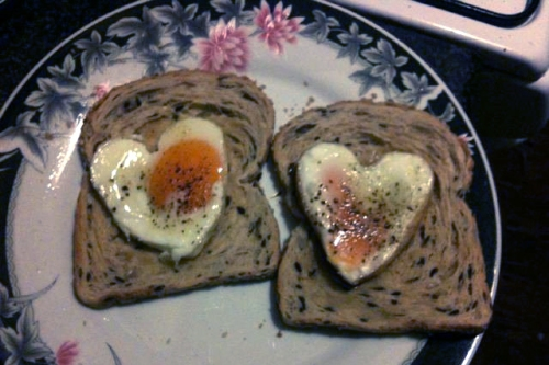 Hearts on Toast