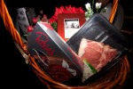 Wedding Waltz Competition Prize - Hamper with Roses chocolate, Plastic Roses, Red Cask Wine and a Stea