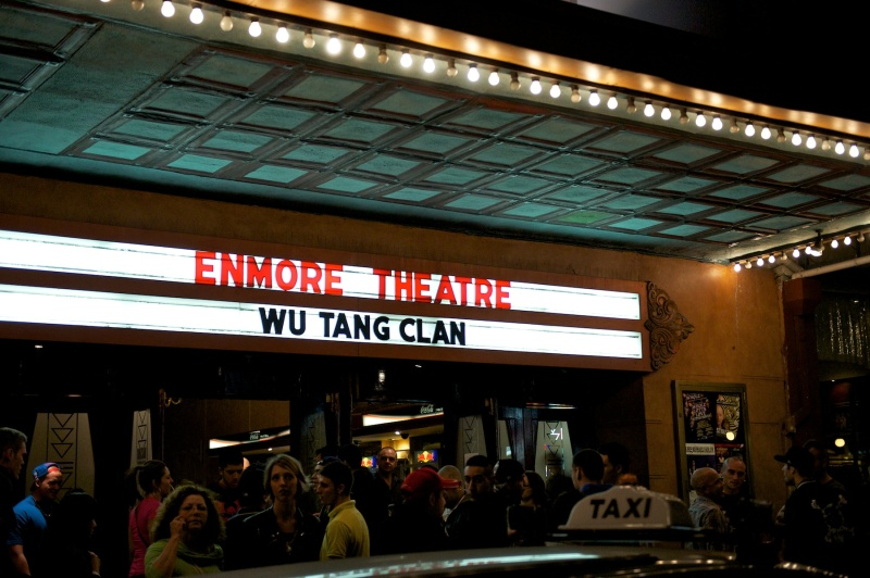 Wu-Tang Clan perform at the Enmore Theatre, Sydney.