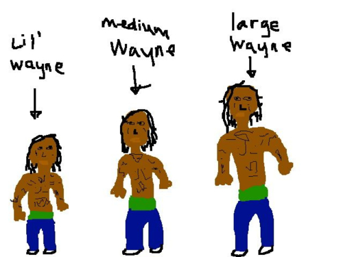 Lil Wayne, Medium Wayne, Large Wayne