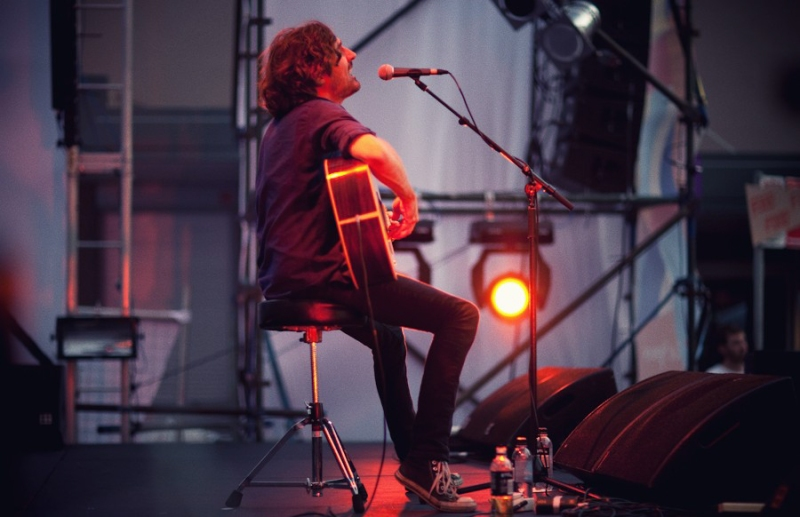 Photos: Gareth Liddiard at Changing Lanes Festival, Surry Hills 2011