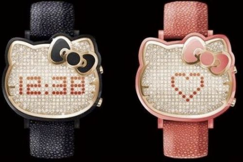 Hello Kitty Bling Watch