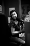 Photos: Lanie Lane in the Studio at FBi 94.5 FM