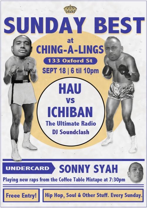 Hauie Beast vs Shantan Wantan Ichiban