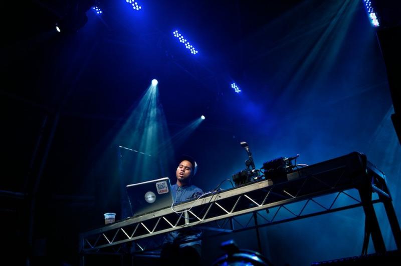 Photos: Lunice at Musica Festival, Sydney 2011