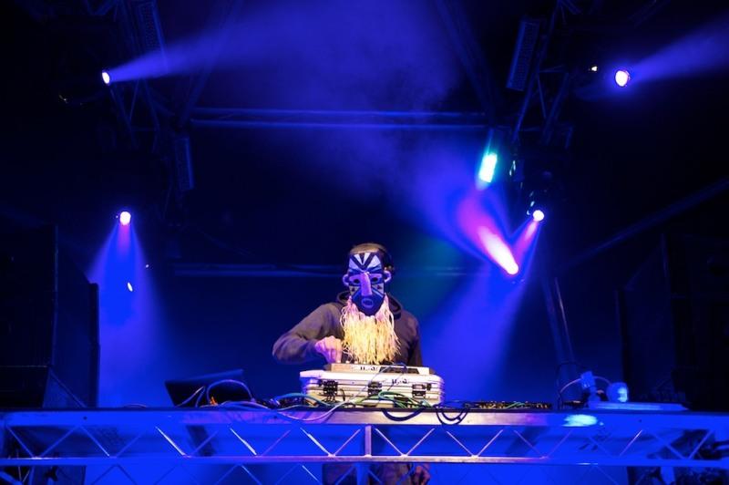 Photos: SBTRKT at Musica Festival, Sydney 2011