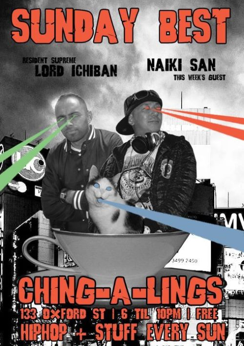Dj Naiki San vs Shantan Wantan Ichiban at Ching-a-lings