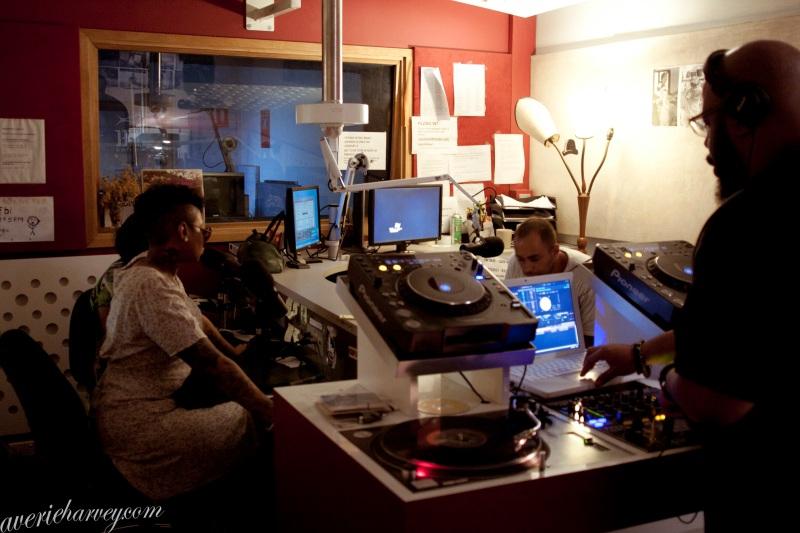 Photos: Jean Grae, Mr Len and Mela Machinko on FBi Radio