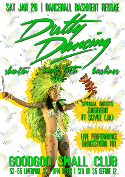 Dutty Dancing Flyer