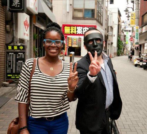 janine in japan