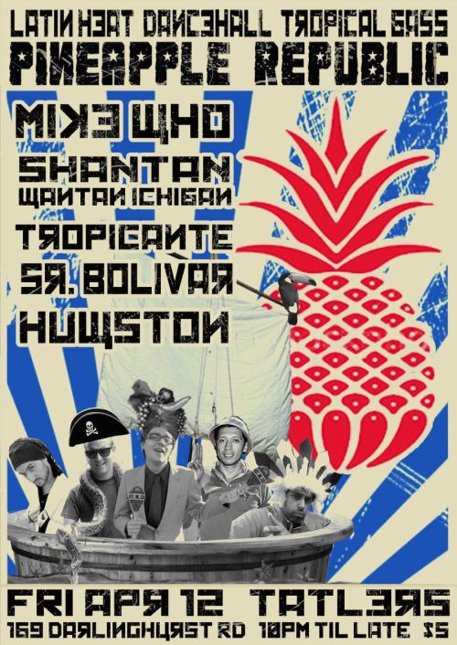 pineapple flyer