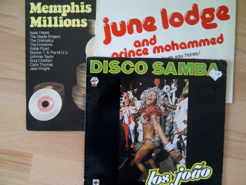 Memphis Millions, Disco Samba and the June Lodge vinyl